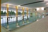 Koupání nejen v létě - lázeňský kratý bazén v Třeboni