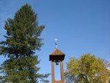 Údolím Lužnice do Dobronic - dřevěná zvonička na Větrově u Senožat