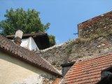 části zdí bechyňského opevnění