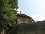 střechy a zdi bechyňského opevnění